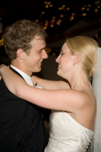 """Our first dance as husband and wife to """"Love of a Lifetime"""""""