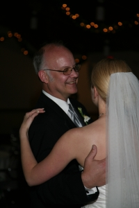 Me and my dad during the Father-Daughter dance