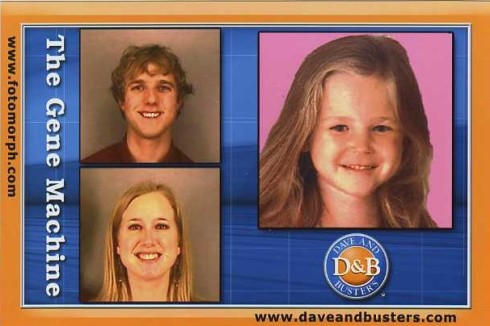 The composite of our faces for our future child