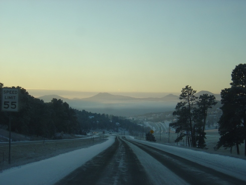All least the drive into Evergreen was beautiful.