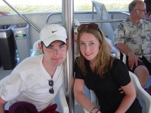 Chris and Meg