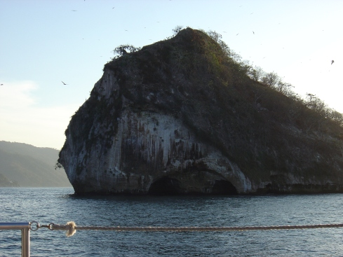 Rock Formations in the middle of the ocean that the natives call Las Rocas