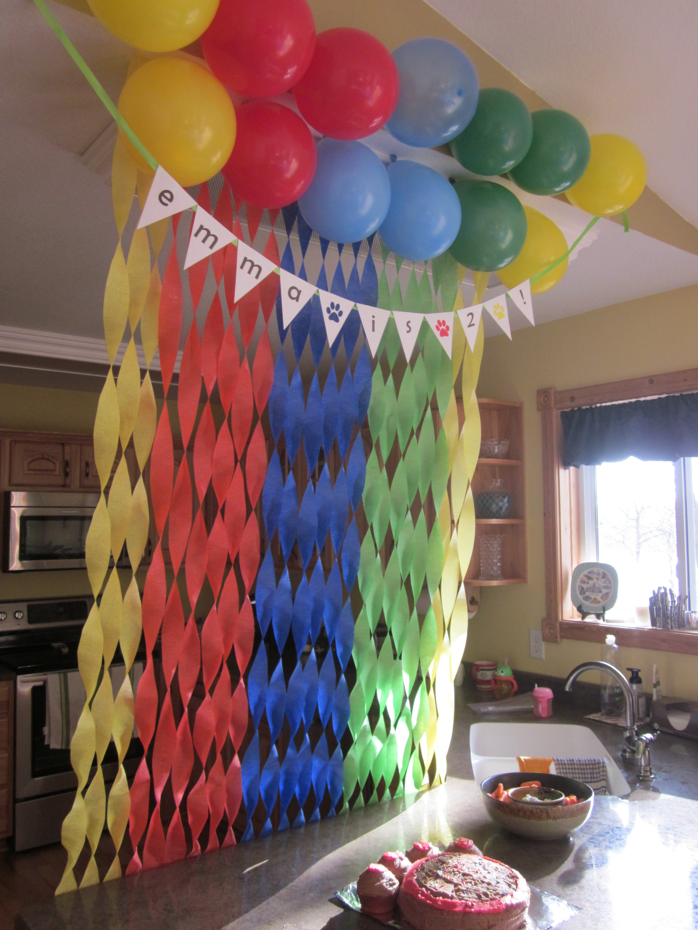 Balloon Decoration Ideas For Birthday Party At Home
